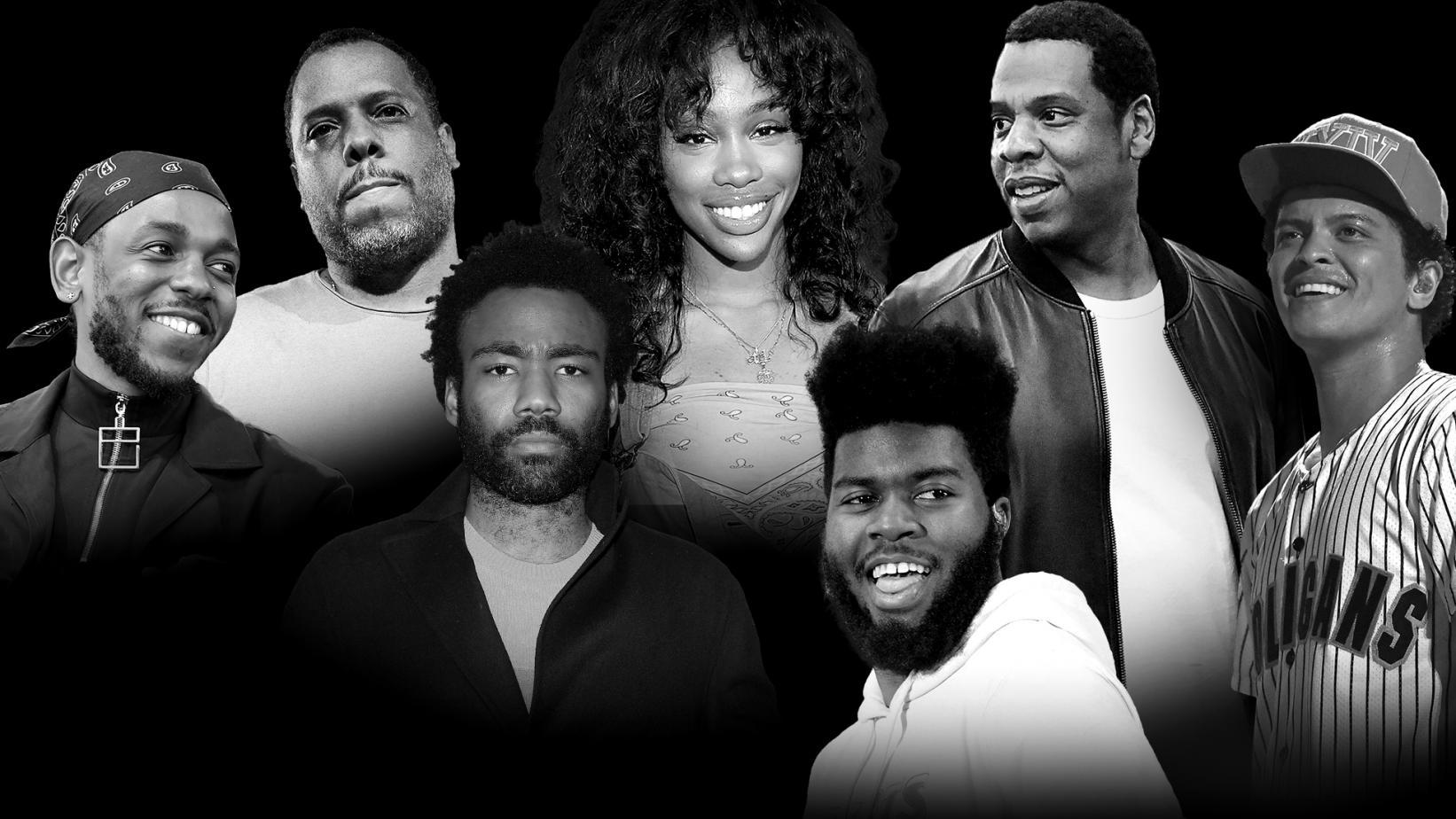 2018 Grammy Awards Full List of Nominees