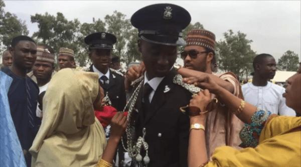 Emir Sanusi's son Aminu Joins Nigeria Police Force