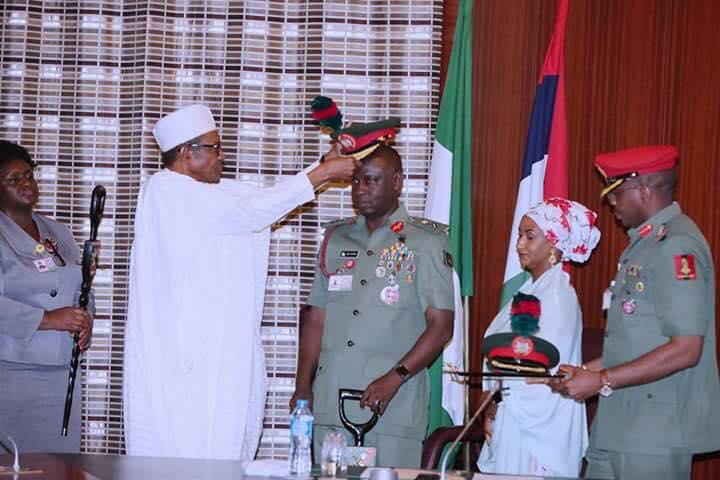 President Buhari Commends Guards Brigade For Professionalism
