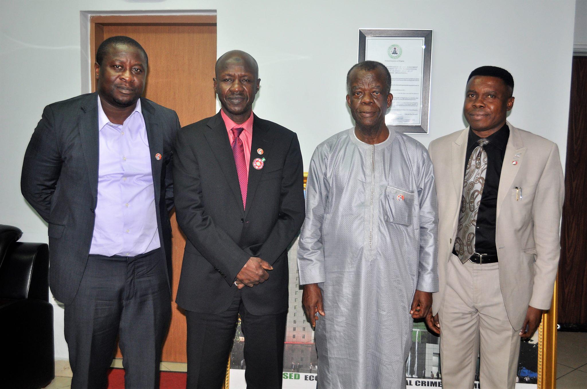 Head, Ghana Anti-corruption Agency Visits EFCC Academy