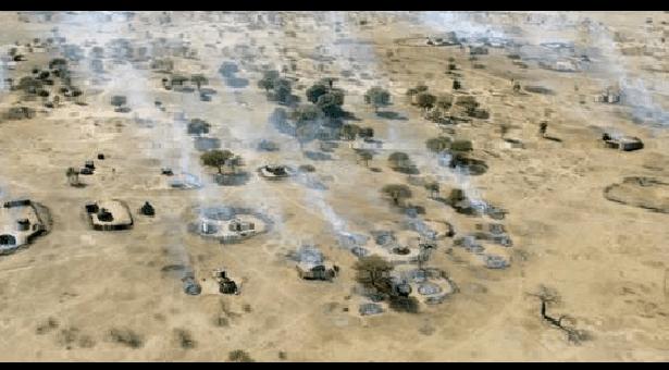 VIDEO: Nigerian Air Force Destroys Boko Haram Terrorists Hideouts In Borno