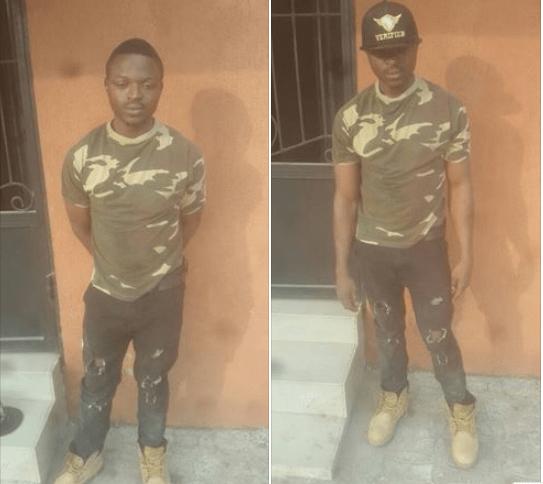 Nigerian Army Arrest Army Impostor