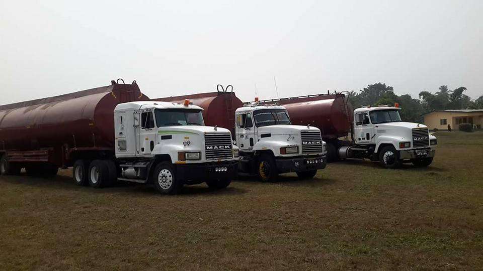 Illegal Oil Transporters In EFCC Custody