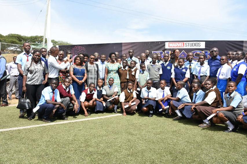 Lupita Nyong'o sponsors 1,200 School Children to see #BlackPanther in Kenya