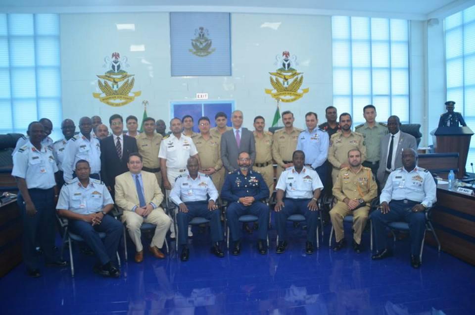 Participants Of National Defence University Pakistan Visit Nigerian Air Force