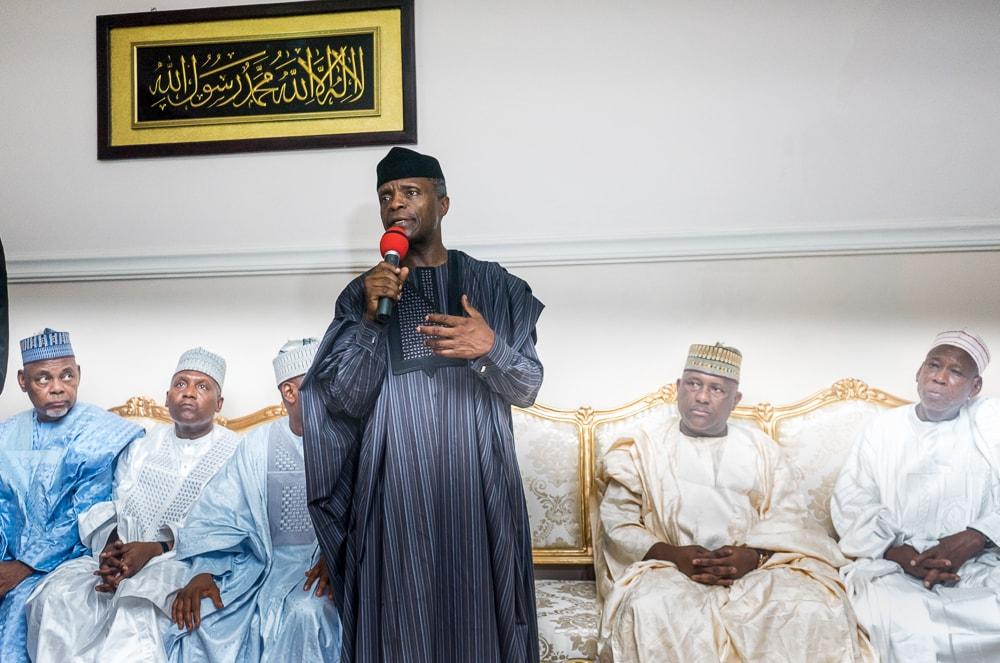 Late Khalifa Sheikh Isyaku Rabiu Served The People Of Kano and Nigeria Well - VP Osinbajo