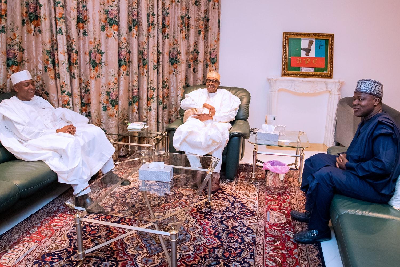 Dogara, Saraki Meet President Buhari Over Plateau Killings