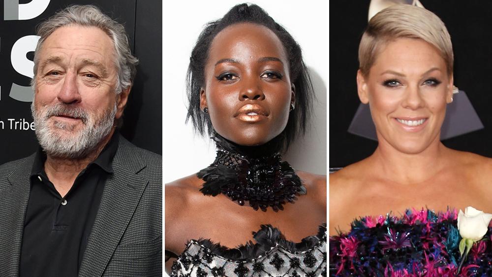 Robert De Niro, Lupita Nyong'o, Pink Among 2019 Walk of Fame Honorees