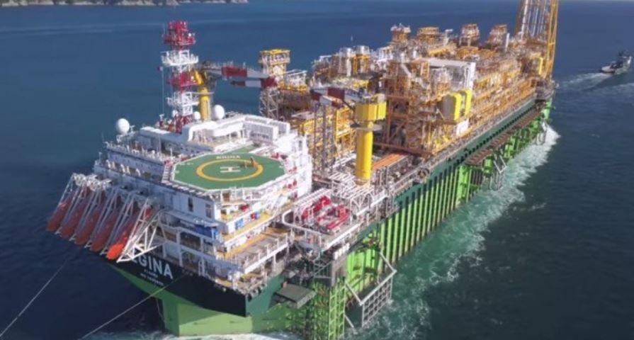 $3.3 billion Egina FPSO Sails To Offshore Field