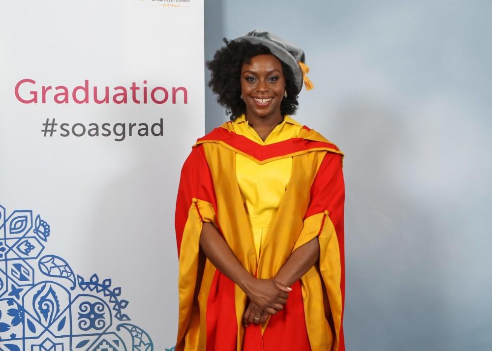 Chimamanda Ngozi Adichie Receives Honorary Doctorate Degree from SOAS University of London