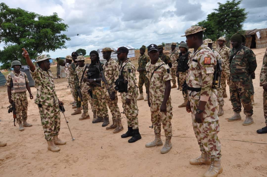 Brigadier General Abdulmalik Bulama Biu Tasks Troops On Alertness