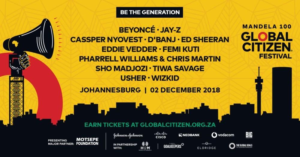 Trevor Noah, Nomzamo Mbatha, Dave Chappelle to Host 'Global Citizen Festival: Mandela 100' in South Africa