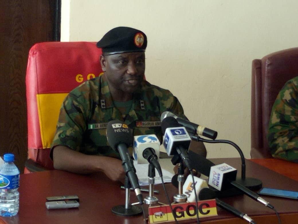 Press Briefing By Nigerian Army On Missing Major General IM Alkali