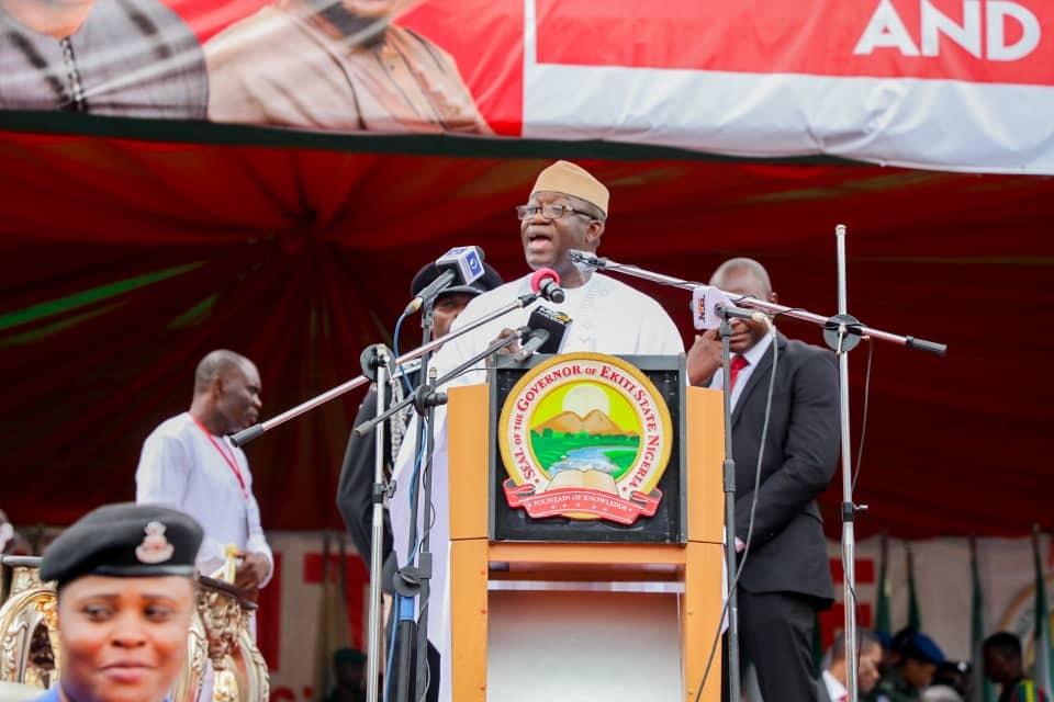 Reclaiming Ekiti The Land of Honour - Kayode Fayemi Inaugural Speech