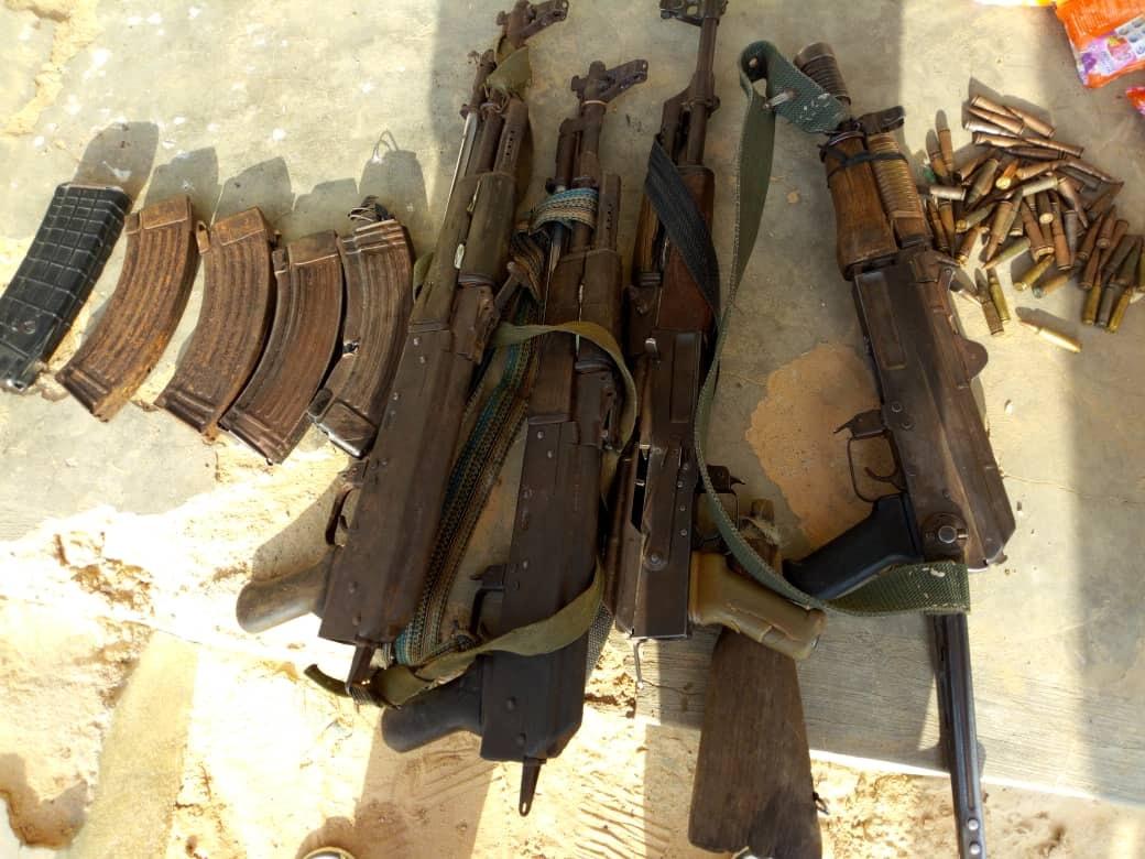 Nigerian Neutralizes Boko Haram Terrorists, Recover Weapons