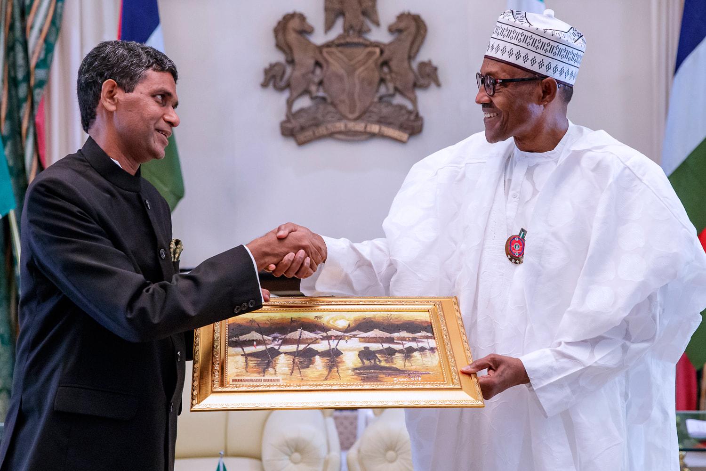 President Buhari Lauds Nigeria-India Relationship