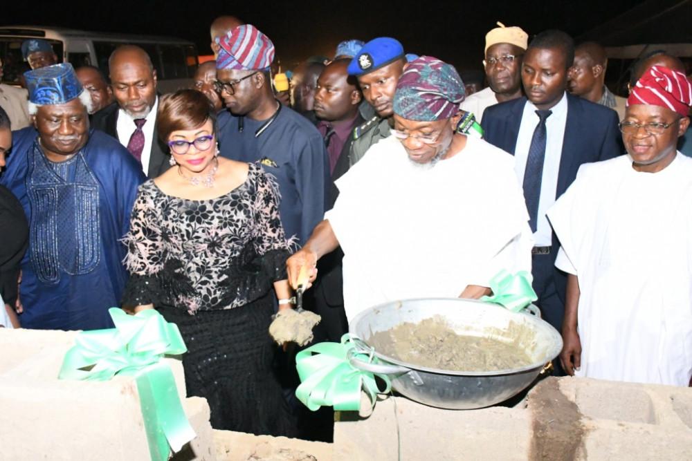 Chancellor Folorunsho Alakija lays Foundation for 250-Bed Osun State University Teaching Hospital