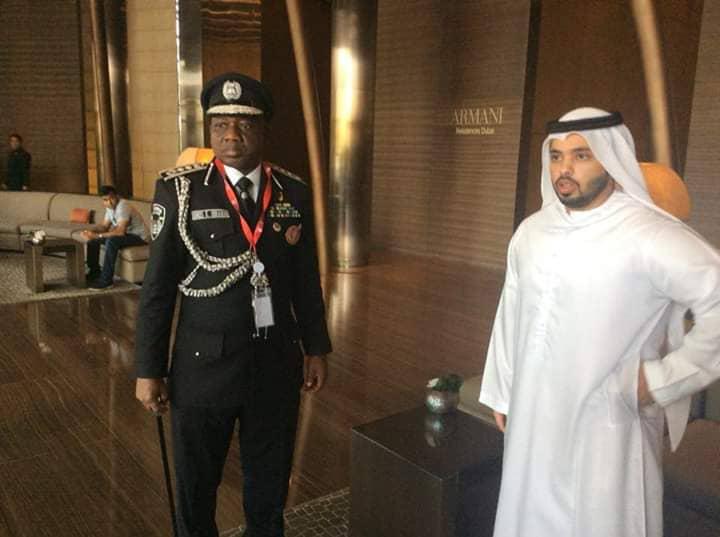 PHOTOS: Inspector General Of Police Idris Abubakar At 87th Interpol General Assembly In Dubai