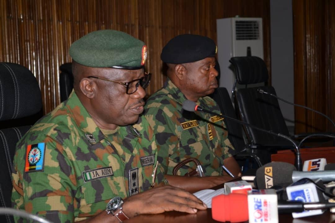 Press Briefing Brig. Gen. John Agim On Activities Of Operation 777