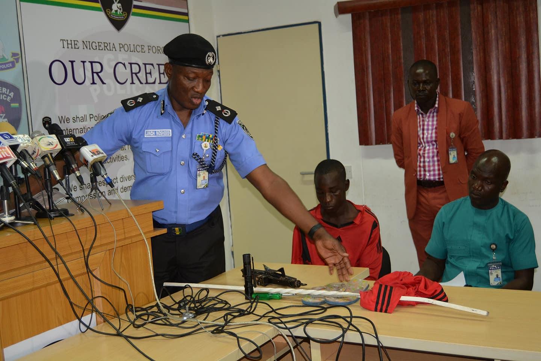 Police Parade Suspects Who Broke Into Deputy Senate President, Ike Ekweremadu's Home At Night