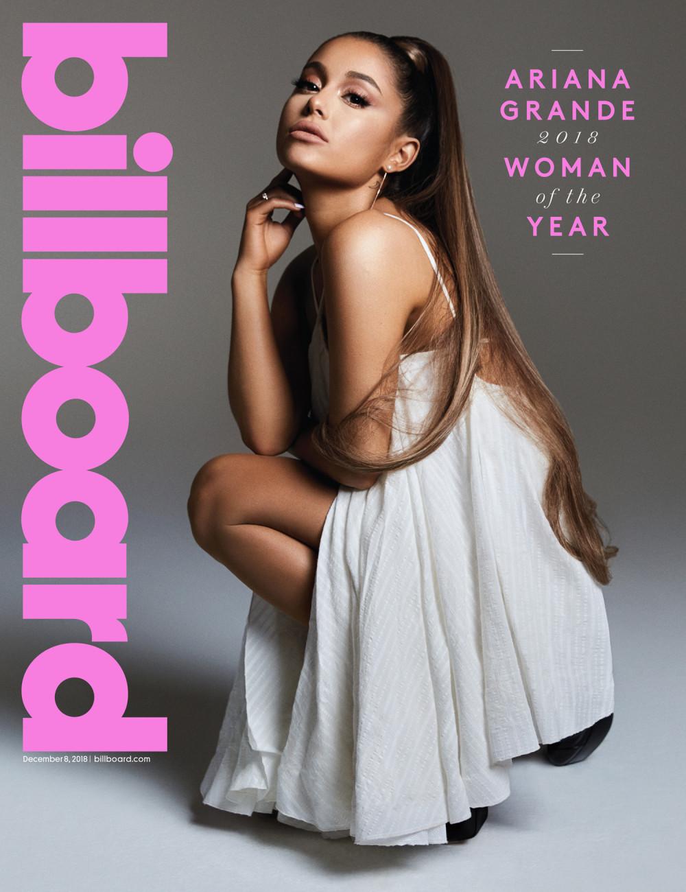 "Ariana Grande Is Billboard's ""Woman of the Year"" 2018"