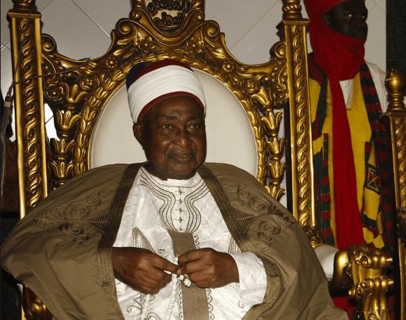 President Buhari Mourns Emir Of Lafia