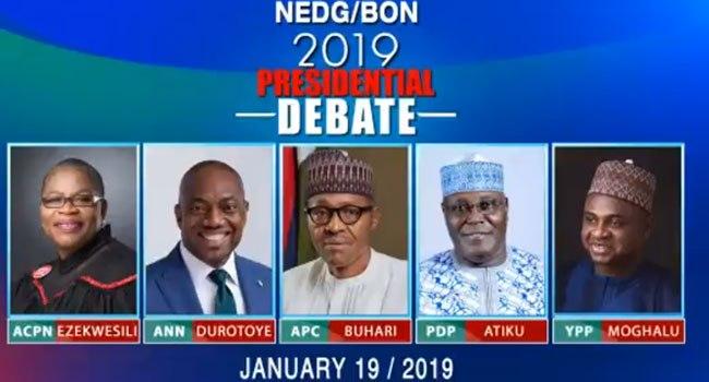 Ezekwesili, Moghalu, Durotoye Attack Buhari, Atiku For Boycotting Presidential Debate