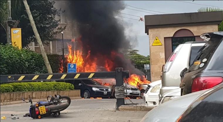 Kenya Hotel Attack By Militants Leaves 15 Dead - Police Say