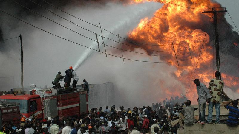 President Buhari Commiserates With Victims Of Wadata Market Fire Incident, Makurdi