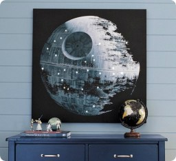 Light Up Death Star Art By 320 Sycamore