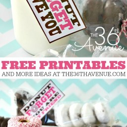 Free Printable - Donut Forget by The 36th Avenue