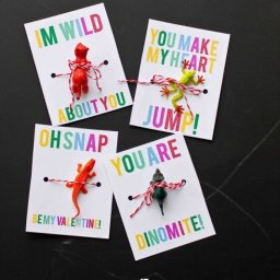 Tiny Animal Valentines Perfect For Boys by Sweet C's Designs