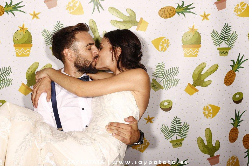 fotomatón de boda en Cataluña