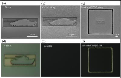 Carbon nanotubes can camouflage 3-D objects | SayPeople