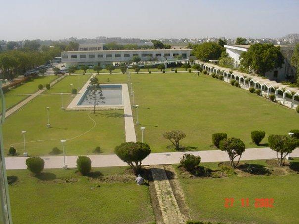 A campus of Karachi University