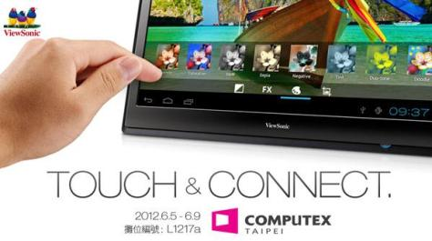 ViewSonic 22-inch tablet