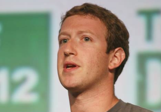 Mark Zuckerberg at TechCrunch Disrupt conference on Sept. 11, 2012 in San Francisco
