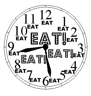Every time is not eating time