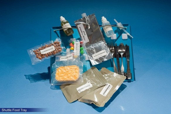 Space Food Shuttle Tray