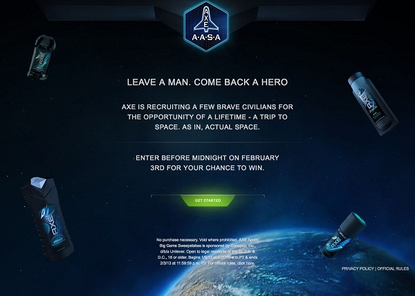 AXE APOLLO SPACE ACADEMY Screenshot