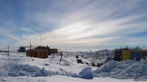 Antarctica - Research area (BBC)