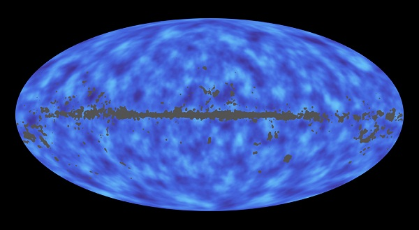 Map of matter in the universe