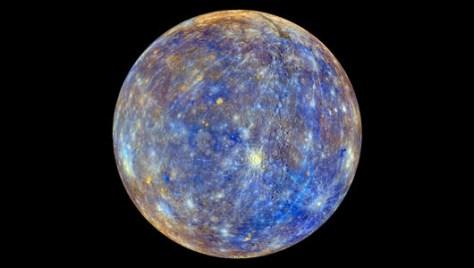 Mercury (Credit: NASA/Johns Hopkins University Applied Physics Laboratory/Carnegie Institution of Washington)