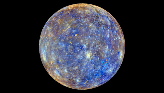 Mercury (Credit: NASA/Johns Hopkins University Applied Physics Laboratory/Carnegie Institution of Washington)