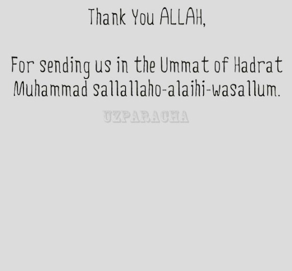 Thank you allah quotation in image saypeople for sending us in the ummat of hadrat muhammad sallallaho alaihi wasallum altavistaventures Image collections