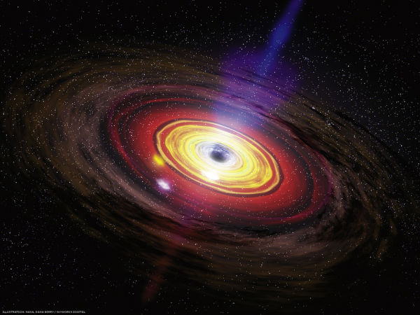 Black hole (Credit: Flickr / thebadastronomer)