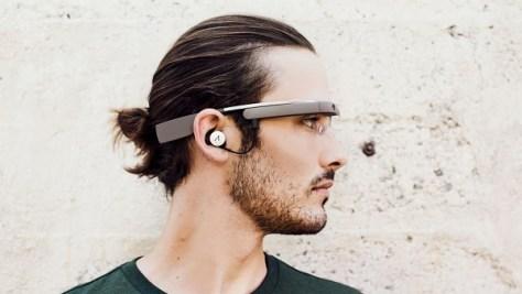 Google Glass redesigned (Credit: Google Glass)