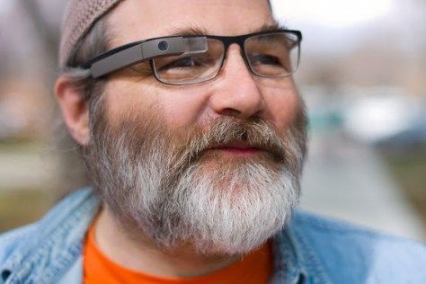 First version of Google Glass (Credit: Arstechnica)