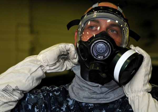 Gas Mask (Credit: User Surface Forces/Flickr)
