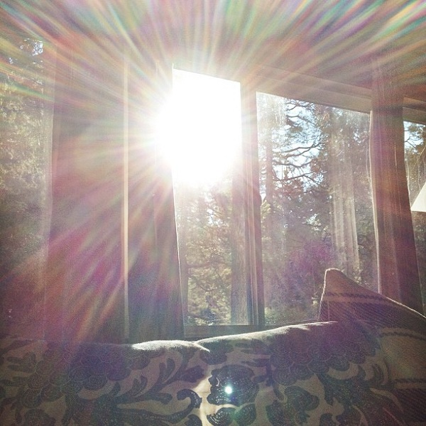 Light coming from window (Source: lovemaegan.com)